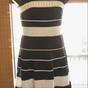 Ann Taylor Womens Strapless Long Dress Size 10